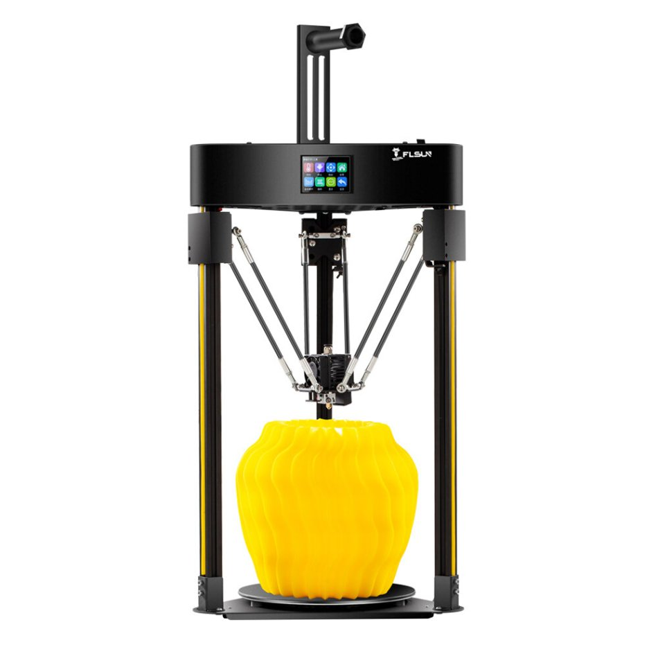 Flsun® Q5 3D Printer Kit 200*200mm Print Size Supprt Resume Print With TFT 32Bit Mainboard/TMC2208 Slient Driver/Colorful Touch Screen
