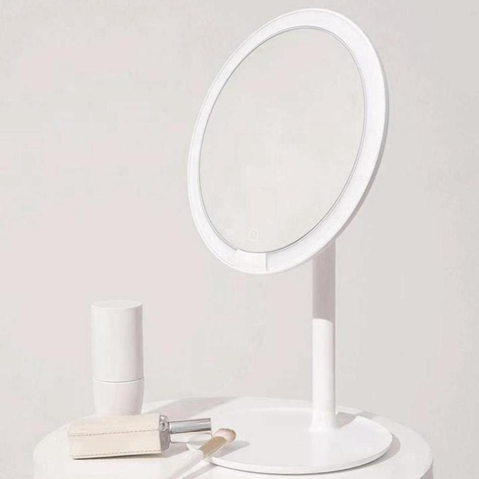 Xiaomi Mijia Portable Rechargeable LED Makeup Mirror with Light Dimmable 3 Lighting Modes