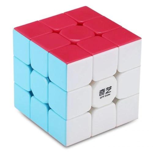 QiYi Warrior W Magic Cube 3 x 3 x 3 Speed Magic Cube Puzzle Finger Toy Intellgence Development Cube for Children Student