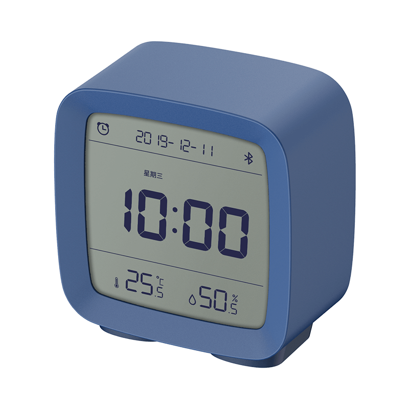 ClearGrass CGD1 Mijia APP Control Bluetooth 5.0 Thermometer Hygrometer LCD Screen Adjustable Nightlight Alarm Clock Calendar From Xiaomi Youpin