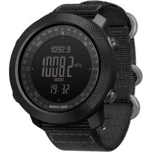 Στα €29.36 από αποθήκη Κίνας | NORTH EDGE Apache2 Altimeter Barometer Compass Temperature Display 50m Waterproof Outdoor Sport Digital Watch