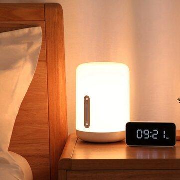 Ευρωπαϊκή αποθήκη | Xiaomi Mijia MJCTD02YL Colorful Bedside Light Table Lamp 2 bluetooth WiFi Touch APP Control Apple HomeKit Siri