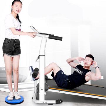 KALOAD Mini Multifunction 3 In 1 Treadmill Folding Adjustable Height Walking Machines Sit-ups Pull Rope Sport Fitness Exercise