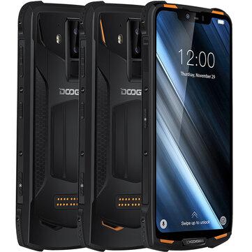 DOOGEE S90C Global Bands IP68 Waterproof 6.18 inch FHD+ NFC 5050mAh 16MP+8MP AI Dual Rear Cameras 4GB 64GB Helio P70 4G SmartphoneMobile PhonesfromPhones & Telecommunicationson banggood.com