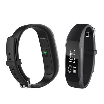 US$30.99 24% Lenovo HW01 Dynamic Heart Rate Sleep Monitor Fitness Tracker Social Share Music Control Smart Watch Band Smart Watch & Band from Mobile Phones & Accessories on banggood.com