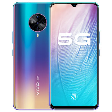vivo S6 5G CN Version 6.44 inch FHD+ HDR10 Android 10.0 4500mAh 32MP Front Camera 8GB 128GB Exynos 980 Smartphone Smartphones from Mobile Phones & Accessories on banggood.com