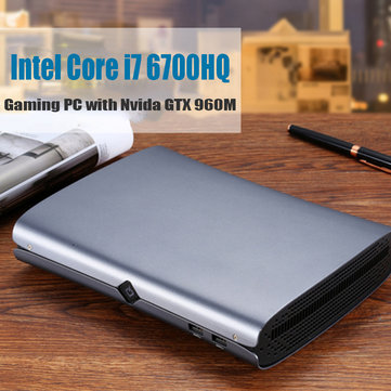 HYSTOU M1 Mini PC Intel Core i7-6700HQ 16GB+256GB 16GB+512GB NVIDIA GTX 960M