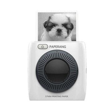 PAPERANG P2 Handheld Mini bluetooth Thermal Printer 300dpi HD 1000mAh Battery Portable Label Photo Printer