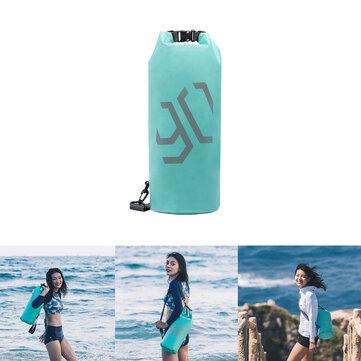 Xiaomi 90 Fun 10L Outdoor Portable Folding Waterproof Bag Dry Sack Shoulder Messenger Pack Storage Pouch