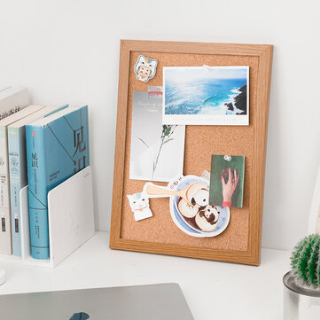 Deli Cork Board Message Home Note Board Wooden Frame Background Photo Wall from Xiaomi Ecological Chain