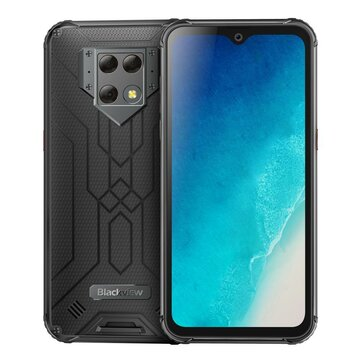 Blackview BV9800 Global Bands 6.3 inch FHD+ IP68 Waterproof NFC 6580mAh Wireless Charging Android 9.0 48MP AI Triple Rear Cameras 6GB 128GB Helio P70 4G Smartphone