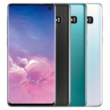 Samsung Galaxy S10 6.1 inch AMOLED Triple Rear Camera Wireless Charge NFC 8GB 128GB Snapdragon 855 Octa Core 4G SmartphoneSmartphonesfromMobile Phones & Accessorieson banggood.com