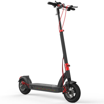 Aerlang H6 500W 48V 17.5A Folding Electric Scooter 10inch 40km/h Top Speed 50-60km Mileage Range Max. Load 120g Two Wheels Electric Scooter