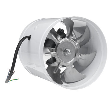 40w 6inch inline duct fan booster 150mm exhaust blower air cooling vent ventilation fan 1080m h sale banggood com