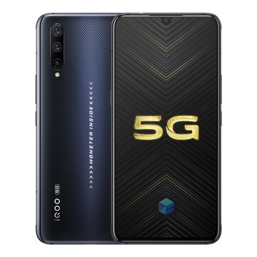 VIVO iQOO Pro 5G Version 6.41 inch Super AMOLED 48MP Triple Rear Camera NFC 8GB 128GB Snapdragon 855 Plus Octa core 5G Smartphone Smartphones from Mobile Phones & Accessories on banggood.com