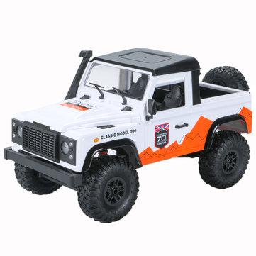 MN D90 1/12 2.4G 4WD RC Car Crawler Truck RTR Vehicle Models