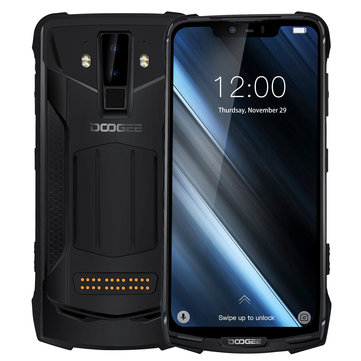 DOOGEE S90C Super Bundle Global Bands IP68 Waterproof 6.18 inch FHD+ NFC 5050mAh 16MP+8MP AI Dual Rear Cameras 4GB 64GB Helio P70 Octa Core 4G Smartphone  Smartphones from Mobile Phones & Accessories on banggood.com