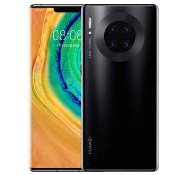 HUAWEI Mate 30 Pro 6.53 inch 40MP Quad Rear Camera 8GB 256GB NFC 4500mAh Wireless Charge Kirin 990 Octa Core 4G Smartphone Smartphones from Mobile Phones & Accessories on banggood.com