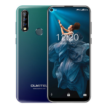 Oukitel C17 Pro 6.35 inch Full Screen 3900mAh Triple Rear Camera Android 9.0 4GB 64GB MTK676 Octa Core 4G Smartphone Smartphones from Mobile Phones & Accessories on banggood.com