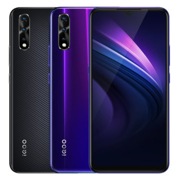VIVO iQOO Neo 6.38 inch 4500mAh 22.5W Quick Charge Triple Rear Camera 6GB 64GB Snapdragon 845 Octa Core 4G Smartphone Smartphones from Mobile Phones & Accessories on banggood.com