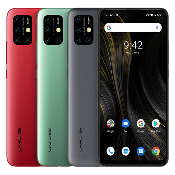 UMIDIGI Power 3 Global Bands 6.53 inch FHD+ Fullview Display Android 10 6150mAh NFC 48MP AI Quad Cameras 4GB RAM 64GB ROM Helio P60 Octa Core 2GHz 4G Smartphone Smartphones from Mobile Phones & Accessories on banggood.com