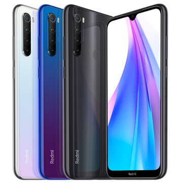 Xiaomi Redmi Note 8T Global Version 6.3 inch NFC 48MP Quad Rear Camera 3GB 32GB 4000mAh Snapdragon 665 Octa core 4G Smartphone Smartphones from Mobile Phones & Accessories on banggood.com