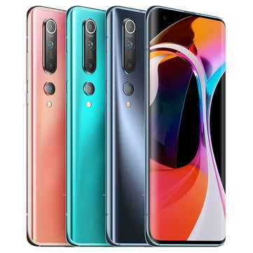Xiaomi Mi 10 5G CN Version 108MP Quad Cameras 8K Video Recording 8GB 128GB 6.67 inch 90Hz Fluid AMOLED Display 4780mAh 30W Fast Charge Wireless Charge WiFi 6 NFC Snapdragon 865 Octa core 5G SmartphoneSmartphonesfromMobile Phones & Accessorieson banggood.com