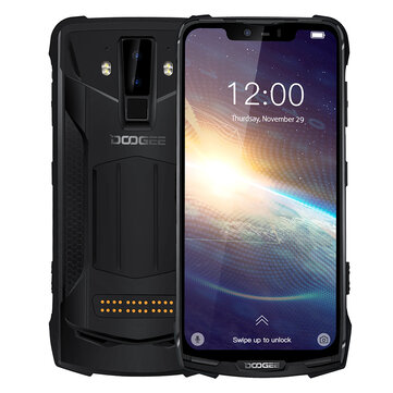 DOOGEE S90 Pro Global Bands IP68 Waterproof 6.18 inch FHD+ NFC Android 9.0 5050mAh 16MP AI Dual Rear Cameras 6GB RAM 128GB ROM Helio P70 Octa Core 4G Smartphone  Smartphones from Mobile Phones & Accessories on banggood.com