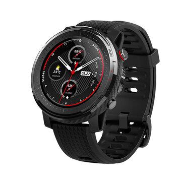 Amazfit stratos 3 1.34′ Screen GPS+GLONASS bluetooth Music Play 14 Days Battery 19 Sport Modes Smart Watch Global Version