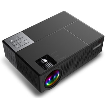 Cheerlux CL770 LCD Projector Native 1080P HD 4000 Lumens Support 3D Home theater Projector