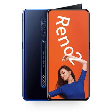 OPPO Reno2 CN Version 6.5 inch FHD+ NFC 4000mAh 48MP Quad Rear Cameras 8GB RAM 128GB ROM Snapdragon 730G Octa Core 2.2GHz 4G SmartphoneSmartphonesfromMobile Phones & Accessorieson banggood.com
