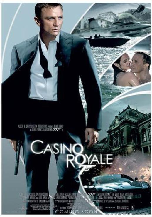 Image result for casino royale poster