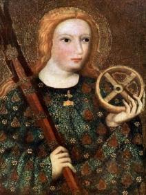 St Catherine, 1365-1367' Giclee Print - Master Theodoric | Art.com