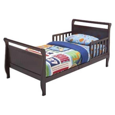 sleigh toddler bed delta children