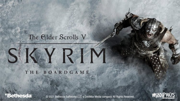 The Elder Scrolls V: Skyrim - juego de mesa