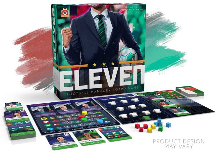 Eleven Portal Games - juego desplegado