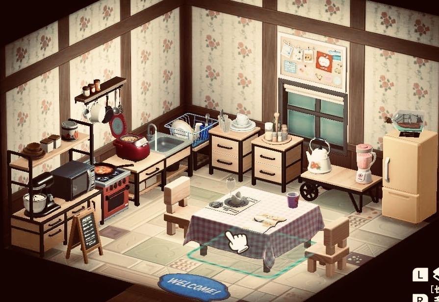 Mom's Warm Kitchen Set (28 Items)-Theme - Items - Animal ... on Kitchen Items Animal Crossing  id=60288