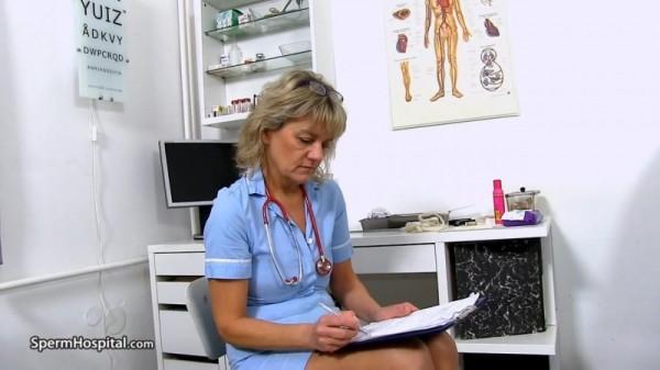 Viola – Gorgeous Czech doctor lady Viola a blowjob at clinic (2018/SpermHospital.com/HD)