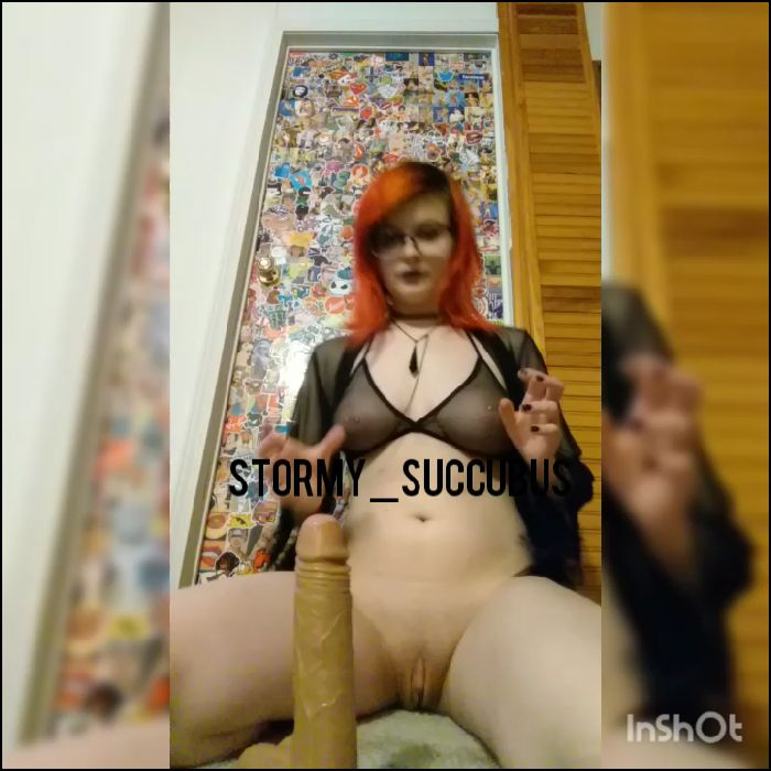Stormy succubus – Anal and moaning for my neighbors to hear (amateurporn)