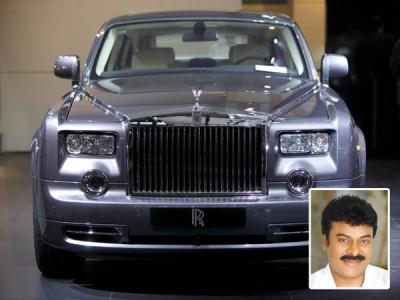 Chiranjeevi And Rolls Royce Phantom | CarTrade Blog
