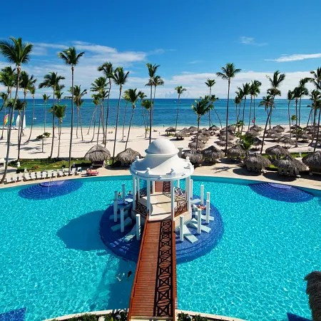 In front of the extensive and spectacular bavaro beach is the melia caribe beach resort (formerly melia caribe tropical), a luxury property that sets the standard for all inclusive family vacations. Hotell Paradisus By Melia Palma Real Golf Spa Playa Bavaro Trivago Se