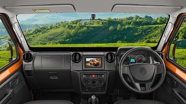 Force Motors Gurkha New Dashboard