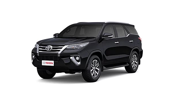 Toyota Fortuner Attitude Black Colour Fortuner Colours In India Carwale