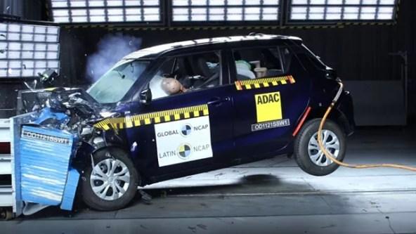 India-made Suzuki Swift scores zero stars in Latin NCAP