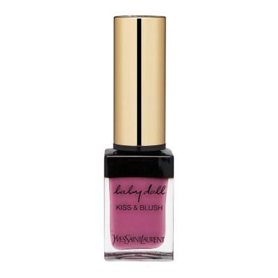 Yves Saint Laurent  Baby Doll Kiss & Blush Lips & Cheeks 3 Rose Libre, 0.33oz, 10ml
