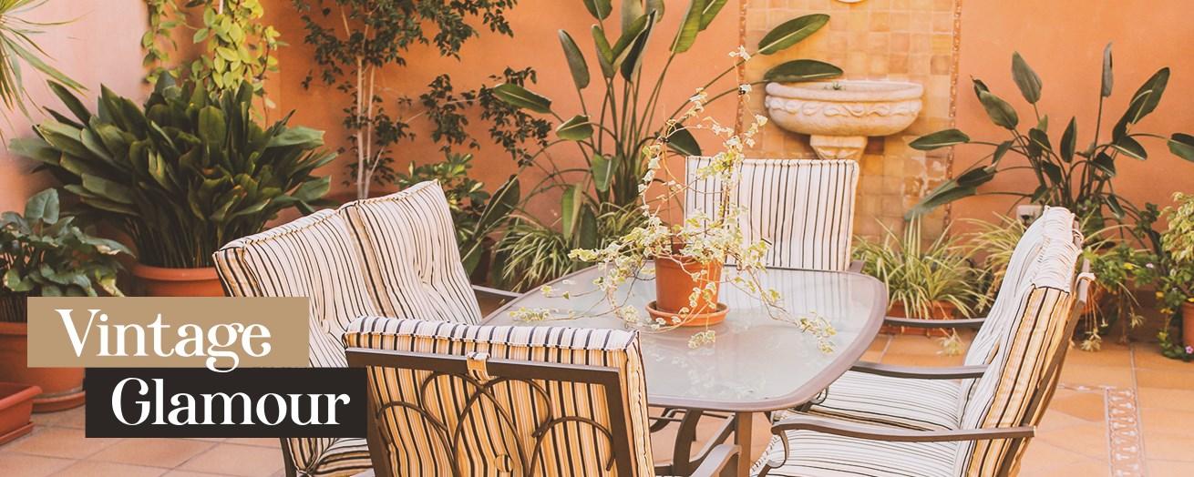 vintage patio furniture vintage