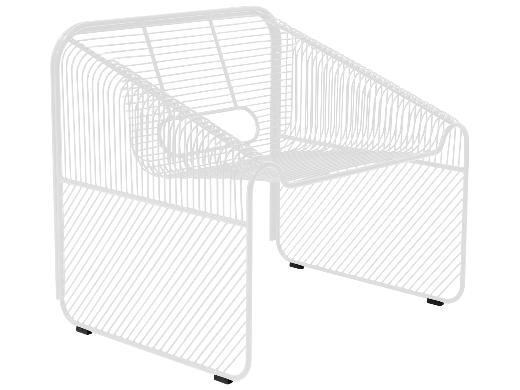Bend Goods Outdoor Hot Seat Metal Lounge Set
