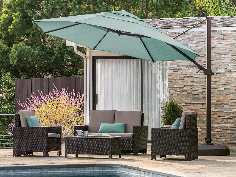treasure garden 11 ag25tr octagon cantilever umbrella