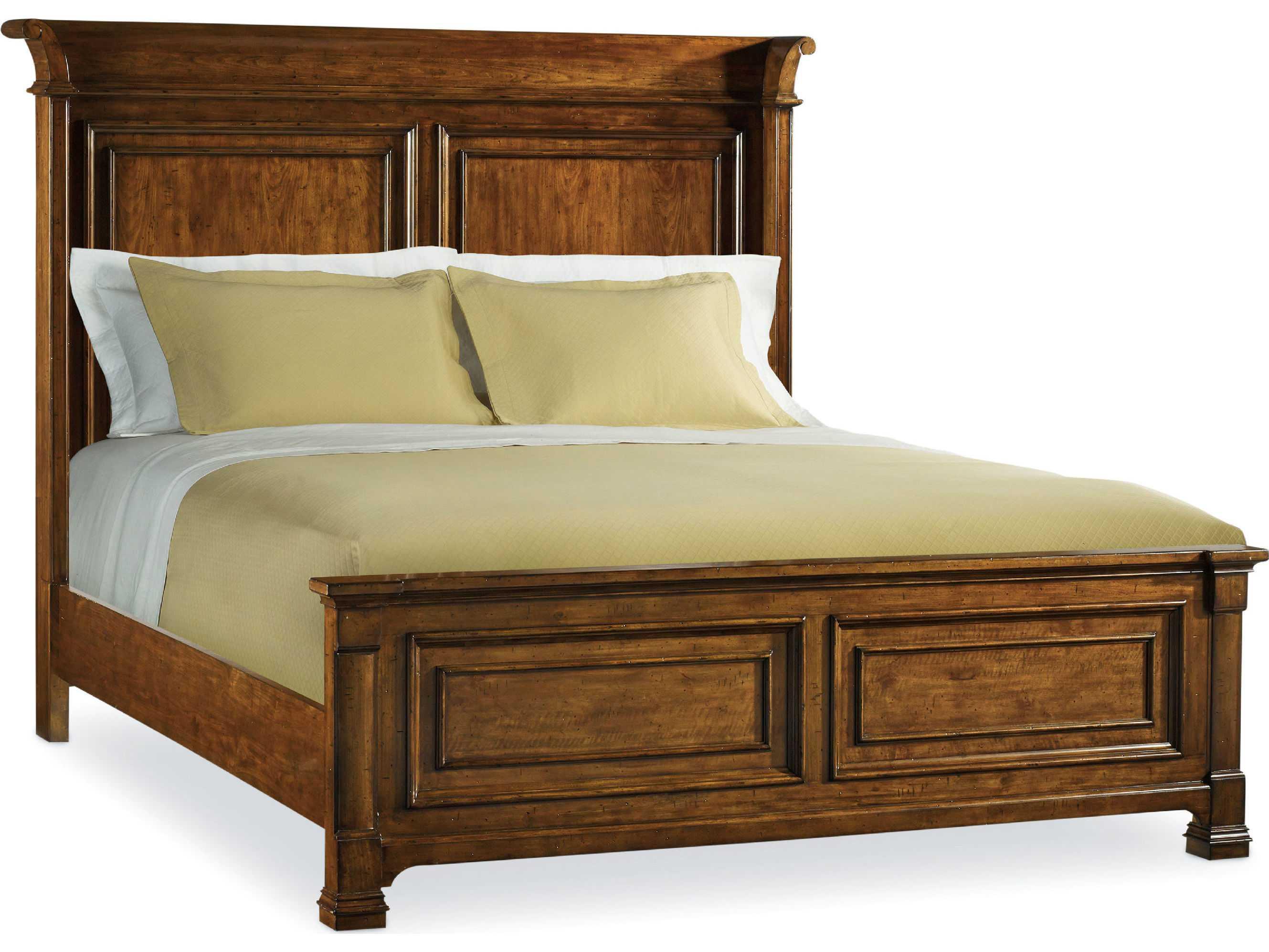 Hooker Furniture Tynecastle Medium Wood King Size Panel