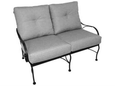 Wrought Iron Patio Furniture   PatioLiving Loveseats